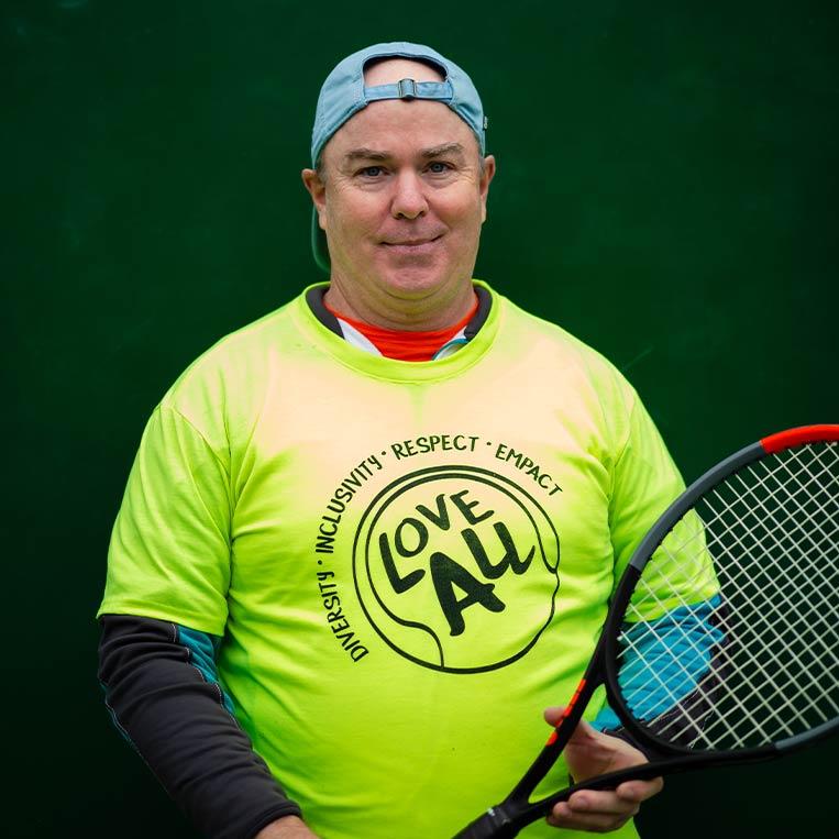 Karl Miller Racket Technician
